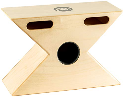 Meinl Hybrid Slaptop Cajon Box Drum with Snare and Bongo, Forward Sound Ports - MADE IN EUROPE - Baltic Birch Wood, 2-YEAR WARRANTY (HTOPCAJ3NT)