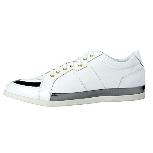 Versace Collection Mens Chaussures De Mode En Cuir Chaussures Nous 11 It 44