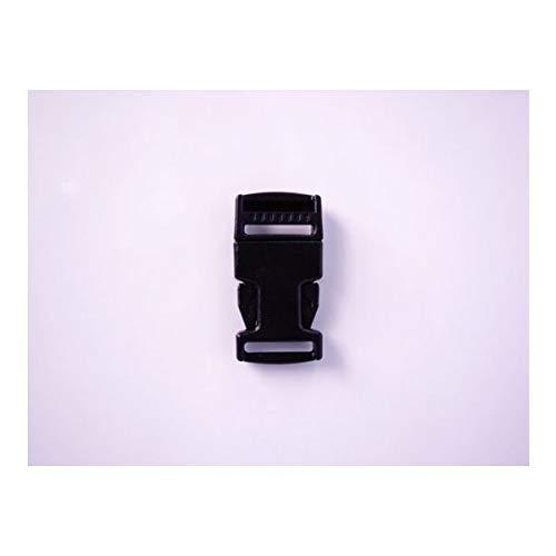100個セット NIFCO ニフコ SR15 プラスチック バックル 黒 15mm巾用 ベルトの長さ調節などに 100個セット  B07K26BNMB