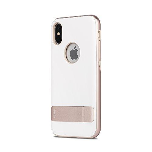 Moshi Kameleon for iPhone X - Coastal White