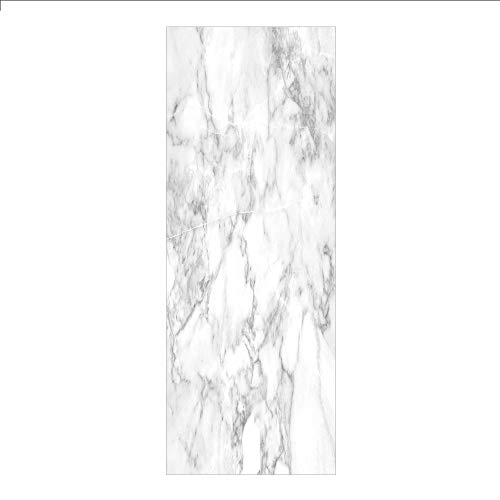 3D Decorative Film Privacy Window Film No Glue,Marble,Nature Granite Pattern with Cloudy Spotted Trace Effects Marble Artistic Image,Light Grey Dust,for Home&Office -