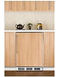 Summit CT66JBIFR Refrigerator, Brown