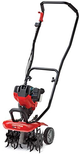 Craftsman C405 12-Inch 29cc 4-Cycle Gas Powered Cultivator/Tiller