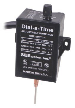 See Water Dial-a-Time™ Sump Pump Switch 230V 50/60Hz. by See Water, Inc.