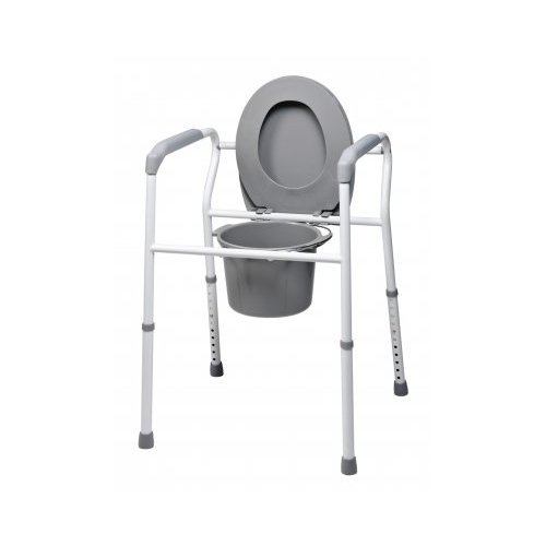 GF Health 7103 Platinum Collection 3-in-1 Steel Commode (Pack of 4)