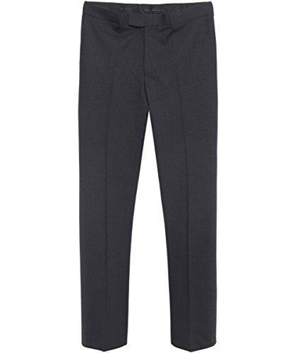Hugo Boss Black Comfort Fit Parker Trousers 34 S Charcoal