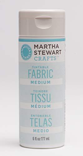 Martha Stewart Crafts Martha Stewart Tintable Fabric Medium Paint 6 ()