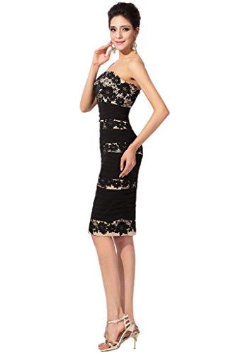 vintage Black rimovibile Sunvary di abito abiti sposa nero scialle madre gxw1z