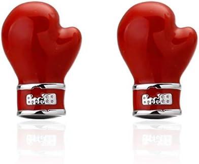 XKSWZD Joyería Guantes de Boxeo Rojos Botones de puño Camisa ...