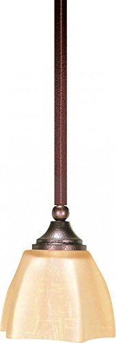 Nuvo Lighting 60 058 One Light Mini Pendant, Copper Bronze