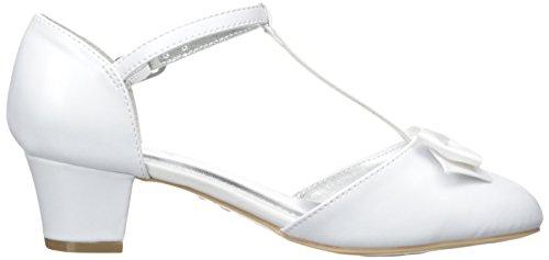 Nina India T-Strap Dress Shoe (Little Kid/Big Kid) White