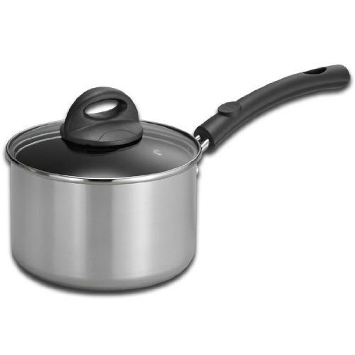 Kitchen Classics 188-552LIB 2-Quart Covered Sauce Pan Heavy Gauge Aluminum Non-Stick