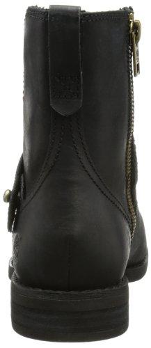 Timberland Savin Hill FTW_EK Savin Hill Strap Mid Boot - Botines chelsea de cuero mujer negro - negro