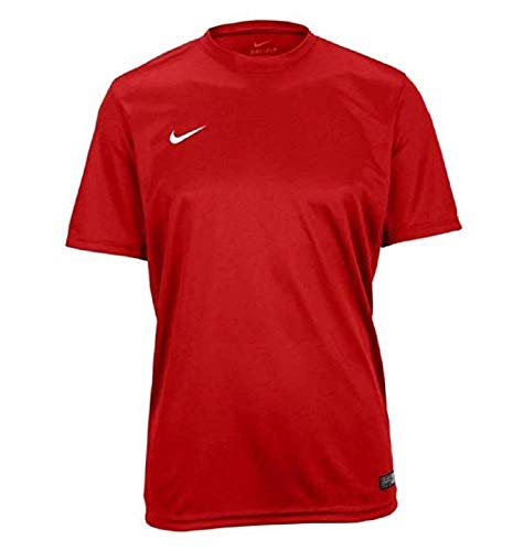 Replica Authentic Jersey - NIKE Tiempo II Soccer Jersey - Red - Youth Medium