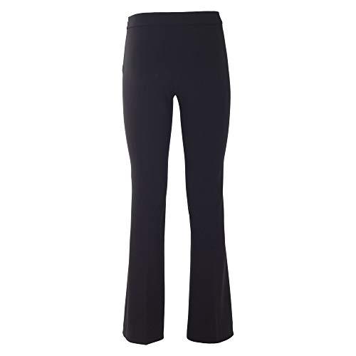Acetato Negro J0307824555 Pantalón Mujer Boutique Moschino 6cZWw