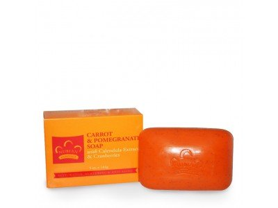 Carrot Nubian Heritage - Nubian Heritage Bar Soap Carrot And Pomegranate - 5 oz - Pack of 12