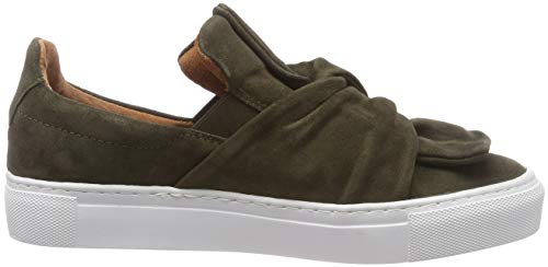 Pavement Sneaker Loop Ava green Suede Slip Donna 200 Verde 200 on Iq7IrOfw