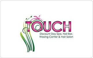 Discount Gift Certificates (Touch Discount Day Spa Gift Card ($100))