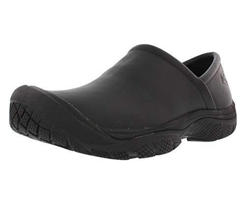 KEEN Utility Men's PTC Slip On Work Shoe,Black,8 M US PTC-U312