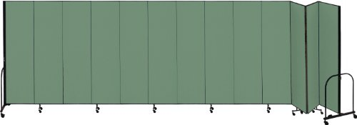 Screenflex CFSL8013-DN Commercial Portable Room Divider, 13 (Screenflex Portable Room Partition Dividers)