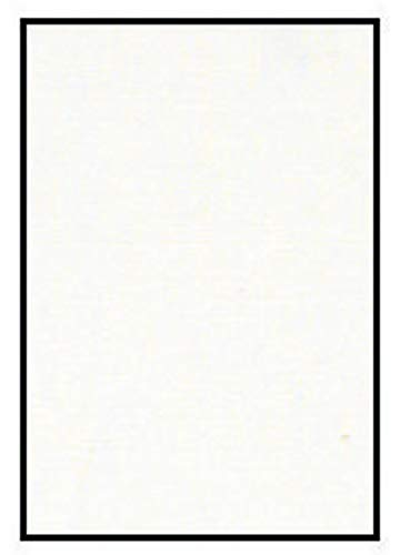 Crescent Colored Mat Board, 20 x 32 Inches, Arctic White 3297, Pack of 10 - 405228 by Crescent