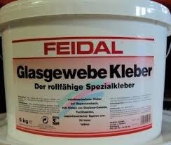 Hervorragend FEIDAL Glasgewebe Kleber / 10 kg / transparent / rollfähiger BA49