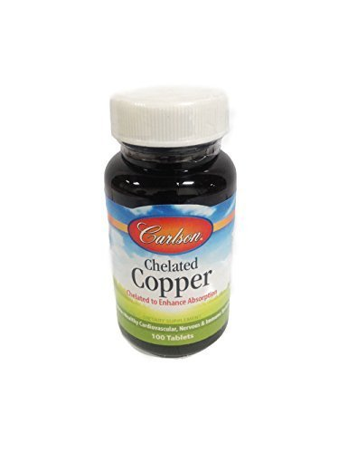 Carlson Labs - Chelated Copper 5 mg 100 tabs ()