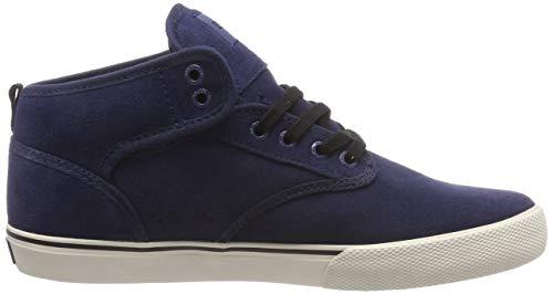 blue De Bleu Motley antique Chaussures Mid Skateboard Globe 12098 Homme Ygq4aHw00