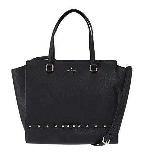 Handbag Purse Jeweled - Kate Spade New York Hadlee Laurel Way Jeweled Purse (Black)