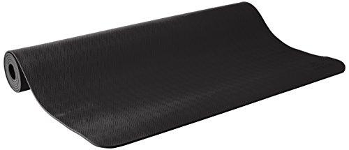 prAna E.C.O. Esterilla de yoga (tamaño grande), Negro, Una talla