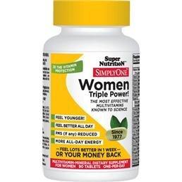 Супер питание - Просто одна женщина питания Витамины - 90 таблеток