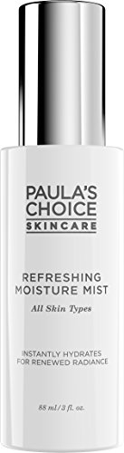 Refreshing Moisture - Paula's Choice Refreshing Moisture Mist with Peptides and Antioxidants - Alcohol-Free - 3 Ounce Hydrating Mist with Sodium Hyaluronate, for Normal, Dry Combination, and Oily Skin Types