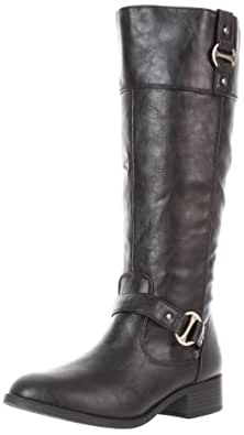 Rampage Women's Iben Riding Boot,Black,6.5 M US