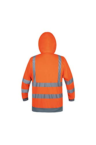 Korntex KXHOOS Sudadera con Capucha Talla S Color Naranja