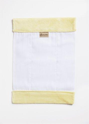 Burp'nBaby Chenille Burp Cloth, Yelloqw (Chenille Infant Burp Cloth)