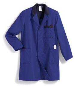 BP Arbeitsmantel 1484 700 113 königsblau/dunkelblau Größe: 52/54