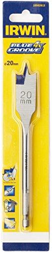 (Irwin Tools - 4x Blue Groove Flat Bit 30mm x 152mm)