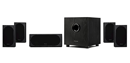 Pioneer SP-PK22BS Andrew Jones 5.1 Home Theater Speaker Package