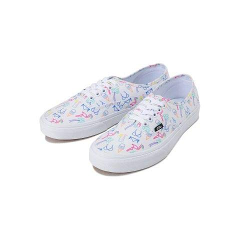Vans Womens Authentic Sneakers (Neon Lights) Tropical/True White Womens 5 (Vans Woman Neon)