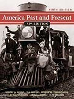 Amazon. Com: america past and present: ap edition (9780131346864.