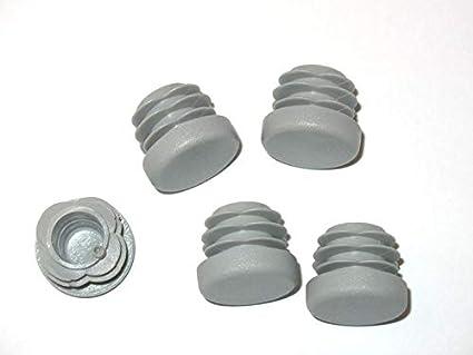 50 lamelles bouchon noir Ø extérieur 18 mm-WS 0,8 à 2,5 mm-Tube Bouchon