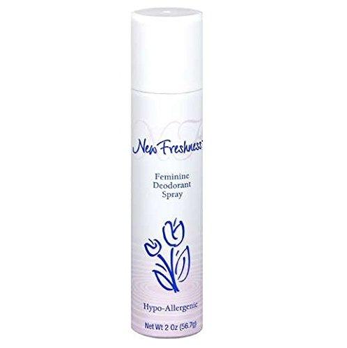 6pk- New Freshness Feminine Deodorant Spray, 2 Oz
