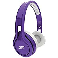 SMS Audio Street 50 Cent Limited Edition Wired Over Earphones Headphones Purple