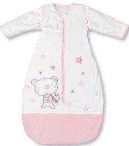 Pirulos Osito Star - Saco de dormir con manga, color rosa: Amazon.es: Bebé
