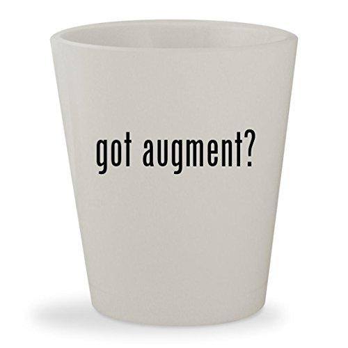 got augment? - White Ceramic 1.5oz Shot (Bone Glass Nose Bone)