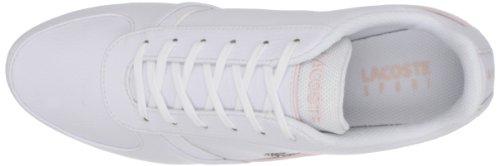 ... Lacoste Kvinner Atherton Ciw Sneaker Hvit / Lys Rosa ...