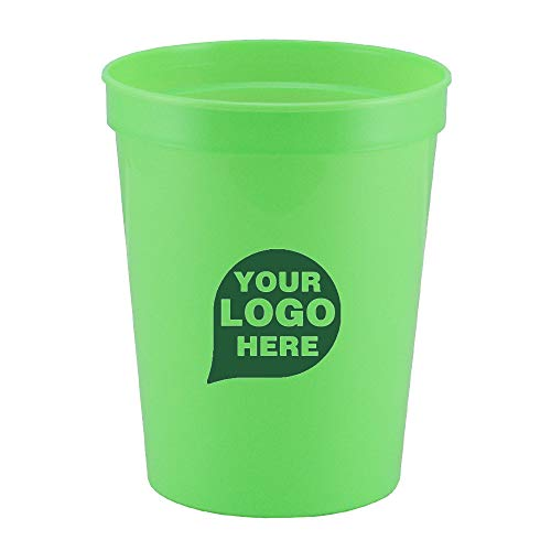 CloseoutPromo Touchdown - 16 oz. Stadium Cup - 500 Quantity - $0.55 Each - Promotional Product/Bulk with Your Logo/Customized