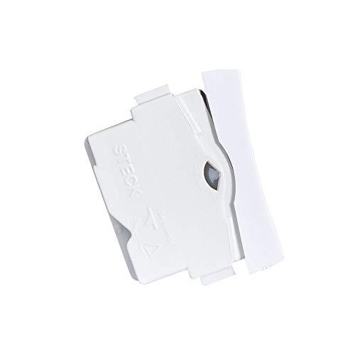 Interruptor Bipolar Paralelo 10a 250v Stella Steck Branco