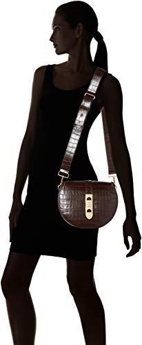 Bolsos Mujer Co3 H Carousel Croco T Cm 5 Hombro moro E1 b De 01 Y 7x20x20 Coccinelle 01 X t Negro 12 Shoppers qgFznS