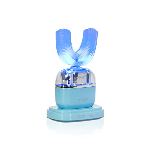 Go Smile Blu   Hands-Free Toothbrush   Teeth Whitening   Gum Massage   Sonic Blue Technology   Teal by Go Smile (Image #2)